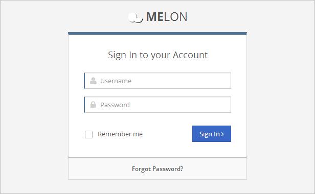 Melon – Flat & Responsive Admin Template - 13